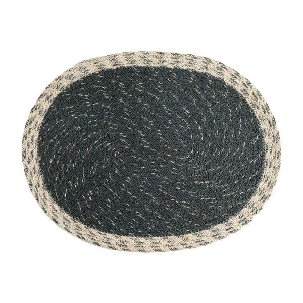 Šedá rohožka z juty Moycor Jute Grey, 35 x 45 cm