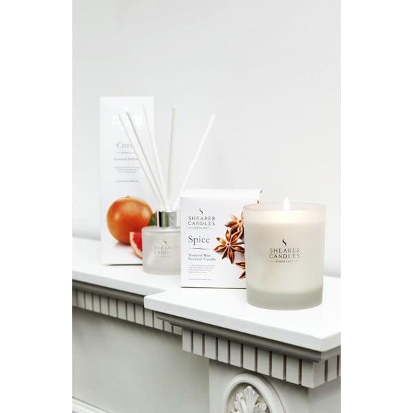 Vonná svíčka New Naturals 40 hodin hoření, aroma citrusy