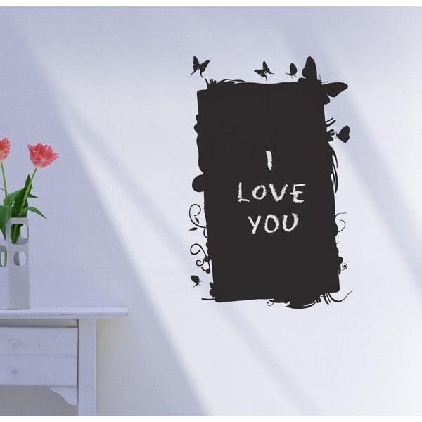 Dekorativní tabulová samolepka Farfalle