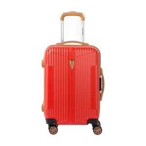 Oranžové kabinové zavazadlo na kolečkách Murano Sympathy