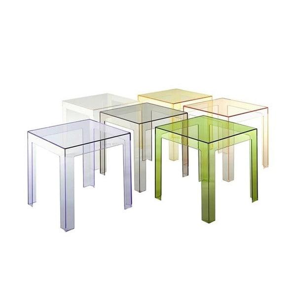Transparentní stolek Kartell Jolly Crystal