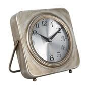 Stolní hodiny Mauro Ferretti Pull Golden,20x20cm