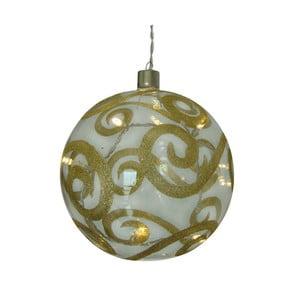 Vánoční skleněná baňka Naeve Sphere, Ø 15 cm
