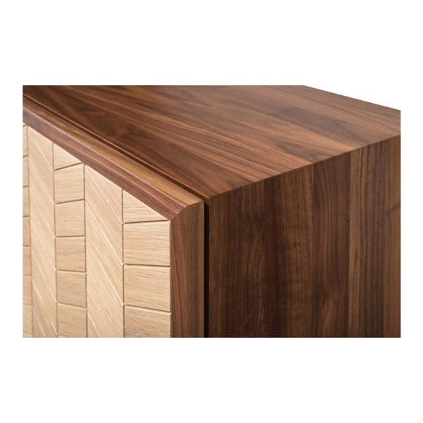 Sekretář z ořechového a dubového dřeva s 5 zásuvkami Wewood - Portuguese Joinery Mister