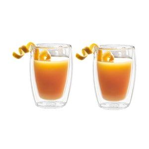 Sada 2 dvoustěnných sklenic Bredemeijer Juice, 270ml