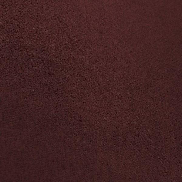 Canapea 3 locuri Vivonita Chesterfield, roșu închis