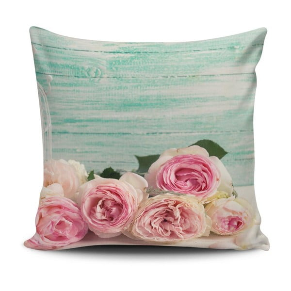 Vankúš s prímesou bavlny Cushion Love Garimo, 45 × 45 cm