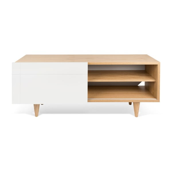 Szafka pod TV Cruz Pure White/Oak
