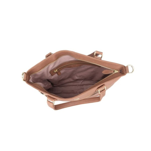 Kožená taška Phoebe Nut