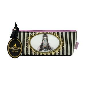 Penál/kosmetická taška Gorjuss Rosebud, 21 x 9 cm