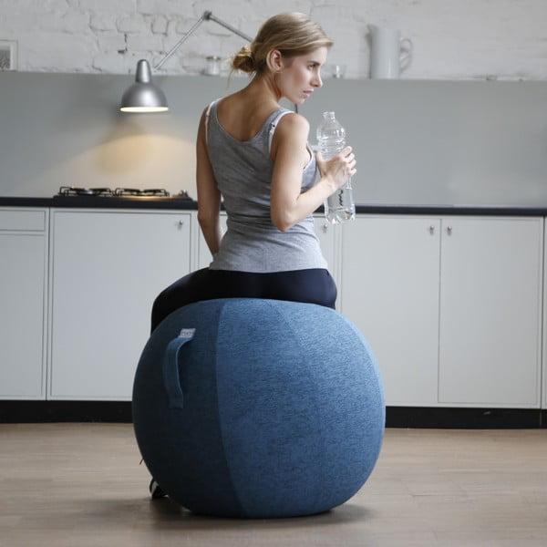Šedo-béžový sedací míč VLUV, 75 cm