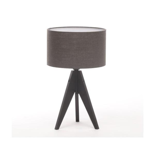 Stolní lampa Arist Cylinder Dark Grey/Black