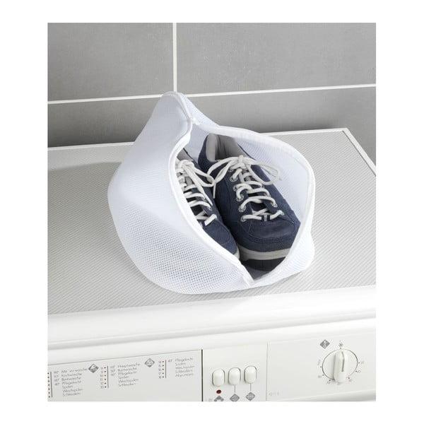 Săculeț pentru spălat pantofii Wenko, alb