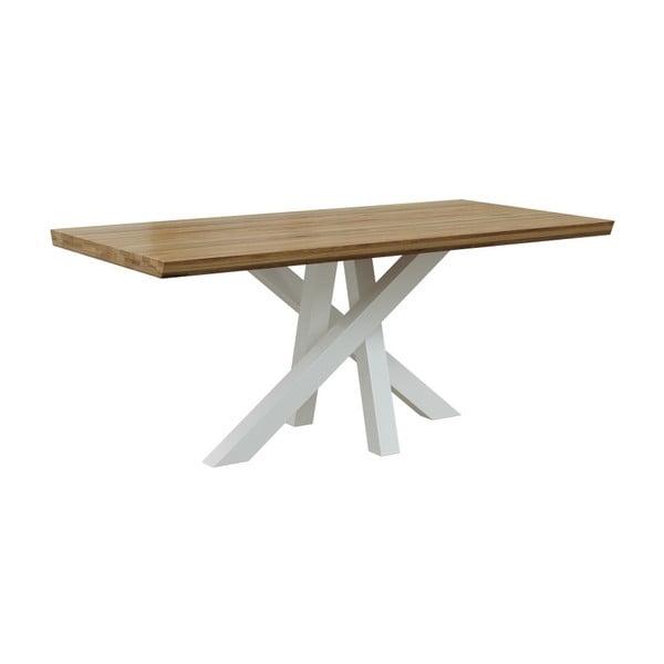 Jídelní stůl ze dřeva ořešáku MESONICA Brook, 90 x 180 cm