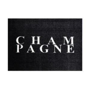 Černá rohožka Mint Rugs StateMat Champagne,50x70cm