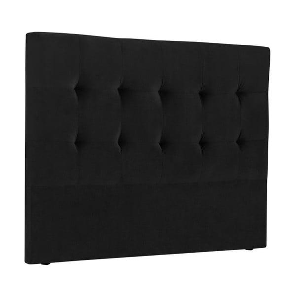 Tăblie pat Kooko Home Basso, 120 x 160 cm, negru