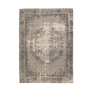 Hnědý koberec s příměsí bavlny Cotex Sidari, 140 x 200 cm