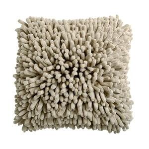 Pískově hnědý polštář ZicZac Spiky, 45x45cm