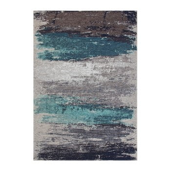 Covor Eco Rugs Aqua Abstract, 80 x 150 cm de la Eko Halı