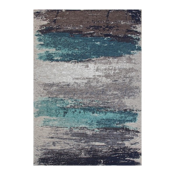 Aqua Abstract szőnyeg, 135 x 200 cm - Eco Rugs
