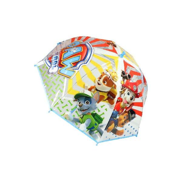 Dětský transparentní holový deštník Birdcage Paw Patrol, ⌀72cm