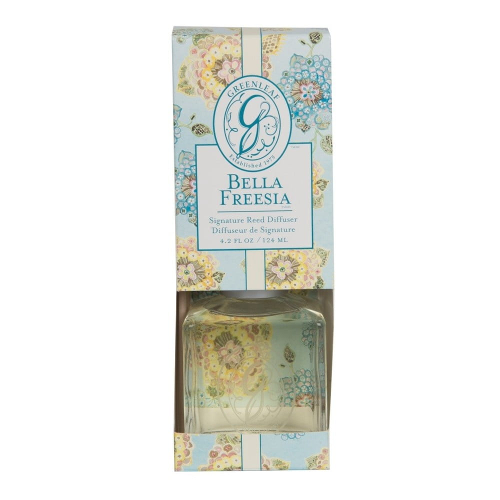 Difuzér s vůní frézie Greenleaf Signature Bella Freesia 124 ml