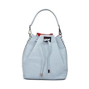 Světle modrá kožená kabelka Renata Corsi Edda