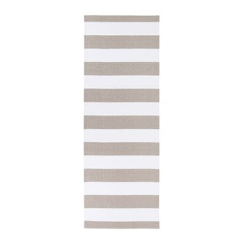 Covor potrivit pentru exterior Narma Birkas, 70x100cm, maro - alb