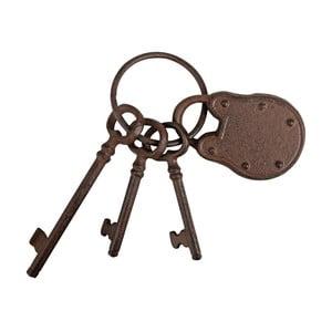 Svazek klíčů se zámkem Esschert Design
