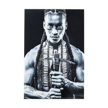 Tablou alb-negru Kare Design Native Front, 150 x 100 cm
