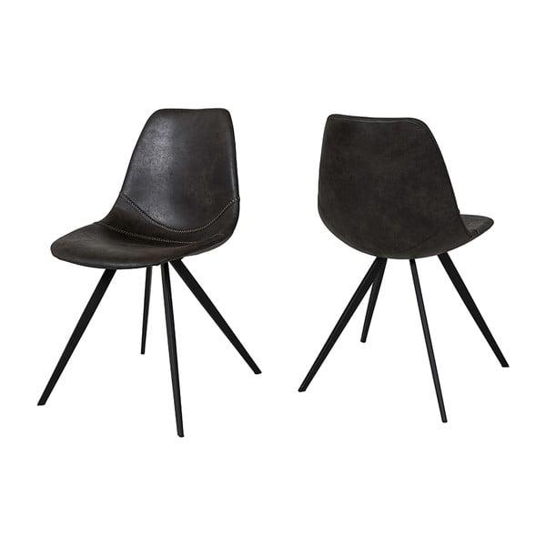 Czarne krzesło Canett Liva Ivina