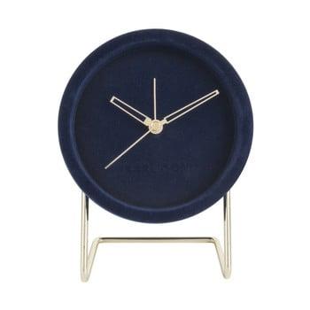 Ceas de masă Karlsson Lush, albastru închis de la Karlsson