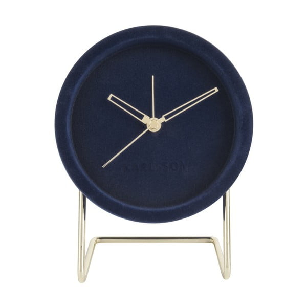 Ceas de masă Karlsson Lush, albastru închis