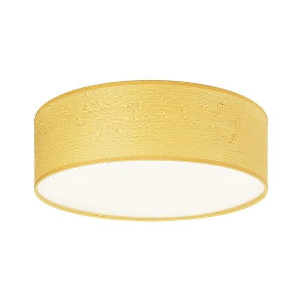 TSURI mennyezeti lámpa természetes furnérból, fehérített bükkfa színben, ⌀ 30cm - Sotto Luce