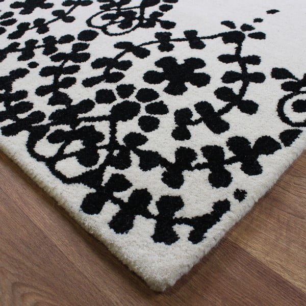 Vlněný koberec Guild White 120x170 cm