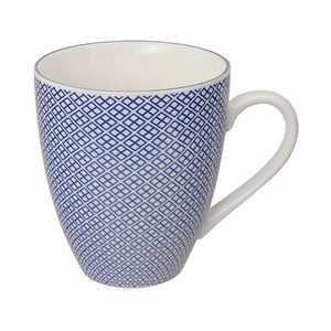 Porcelánový hrnek Nippon Blue Squares