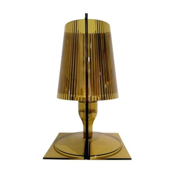 Olivově zelená stolní lampa Kartell Take