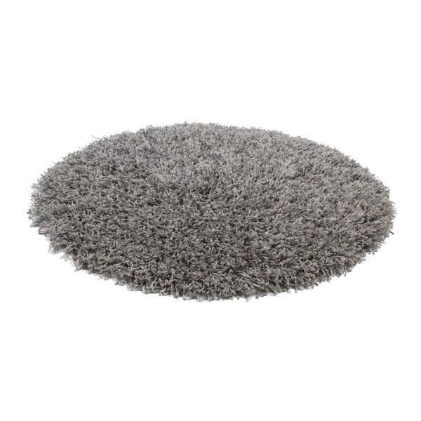 Šedý koberec Obsession My Funky Silv,⌀ 67 cm