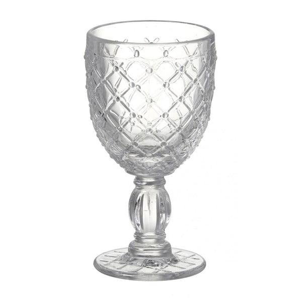 Sklenice na víno Clear Deco