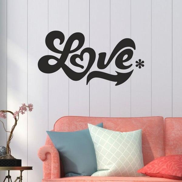Love dekoratív falmatrica