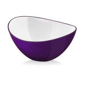 Livio, salátová mísa 25 cm - fialová