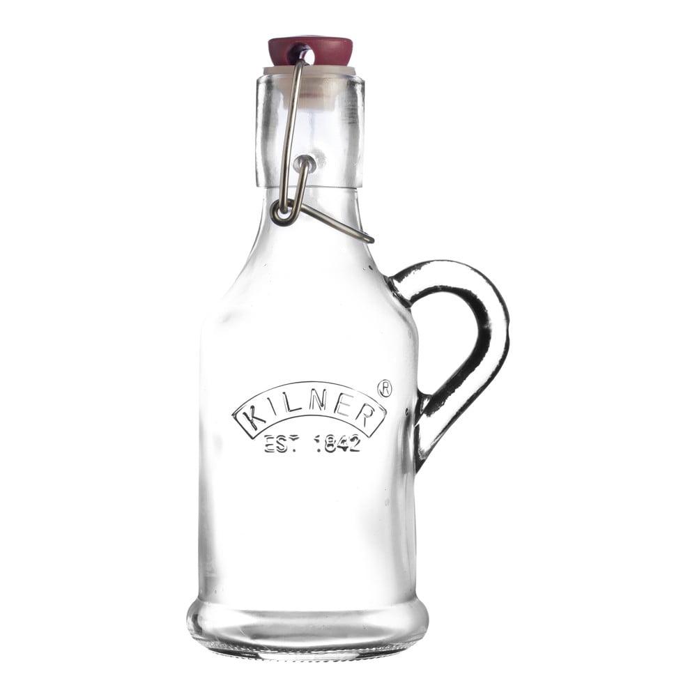 Láhev na likér s klipem Kilner, 0,2 l