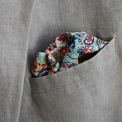 Barevný kapesníček s paisley do saka