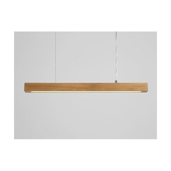 Závěsné svítidlo z dubového dřeva Custom Form Line Plus M