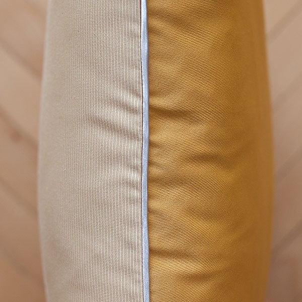 Polštář s výplní Beige Gold, 50x50 cm