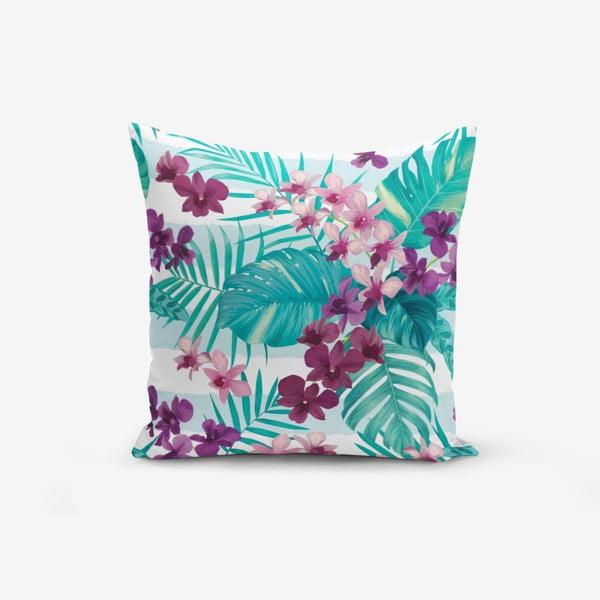 Față de pernă Minimalist Cushion Covers Lilac Flower, 45 x 45 cm