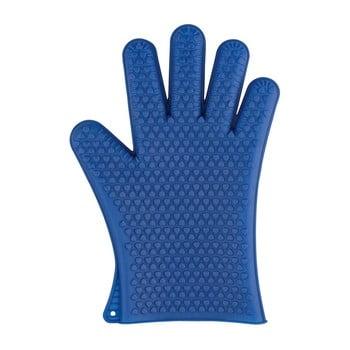 Mănuși din silicon pentru cuptor Wenko Glove, albastru imagine