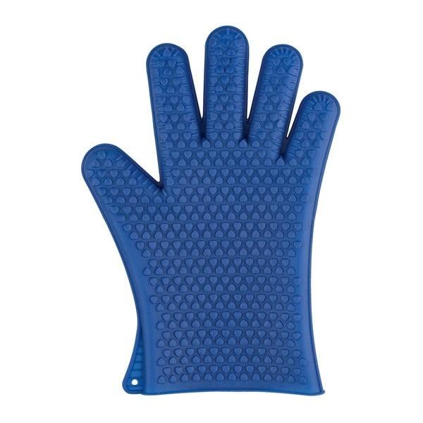 Mănuși din silicon pentru cuptor Wenko Glove, albastru