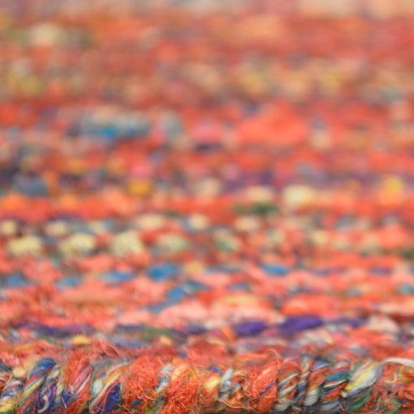 Ručně tkaný koberec Sari Silk Red, 120x180 cm