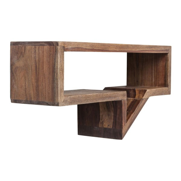 Set 2 rafturi din lemn sheesham Kare Design Speech